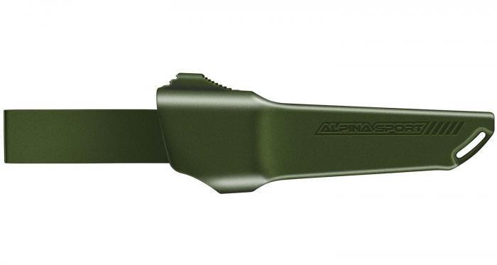 Alpina Sport Ancho Green Fixed Blade Knife sheath