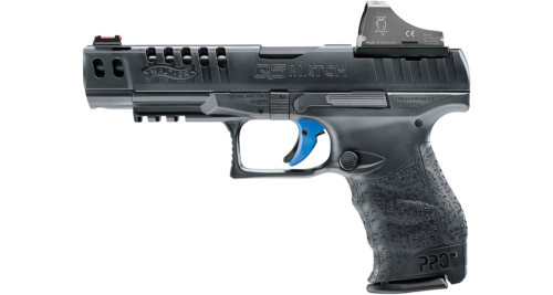 Walther PPQ Q5 Match 9mm with Docter optic sold separately