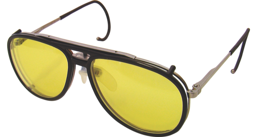Knobloch Clip-on Filter attached to K5 glasses