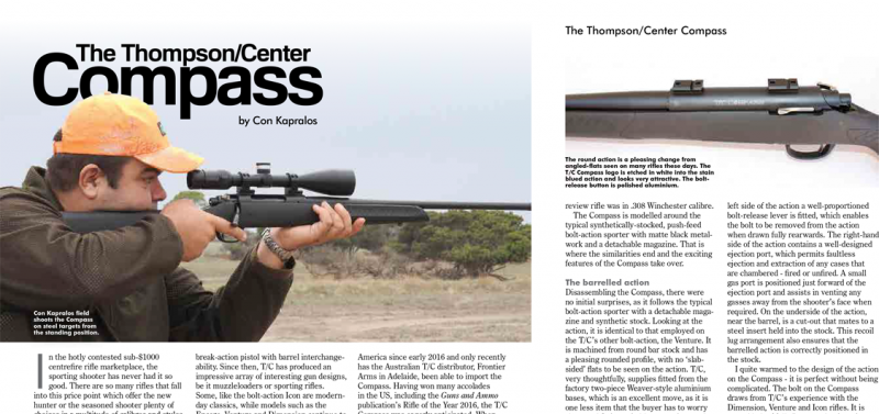 Thompson/Center Compass AS review