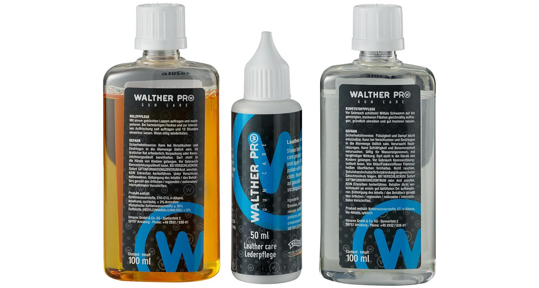 Walther Pro Gun Care Oil Set