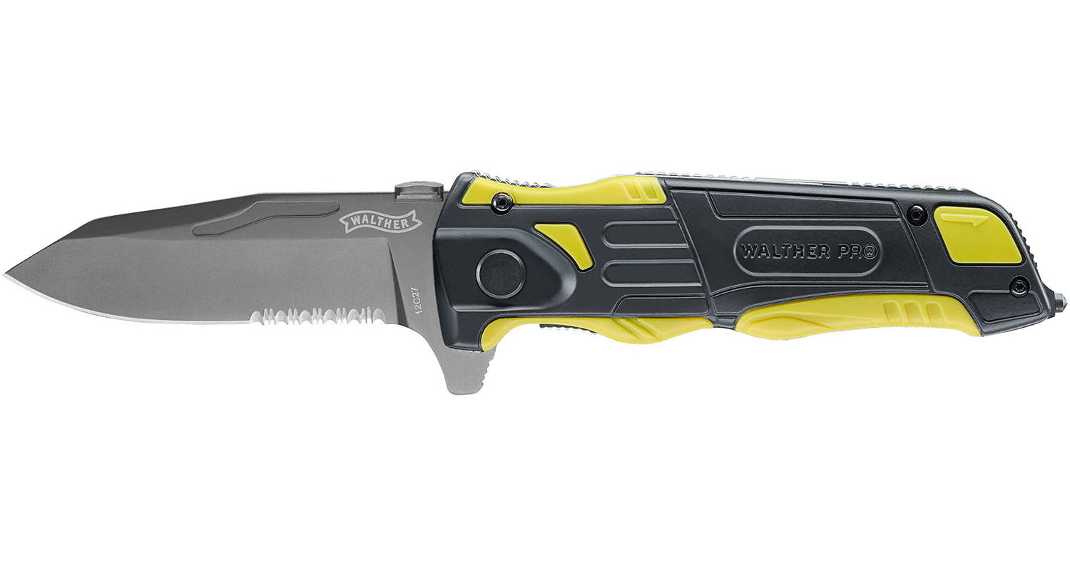 Walther Pro Rescue Yellow Knife