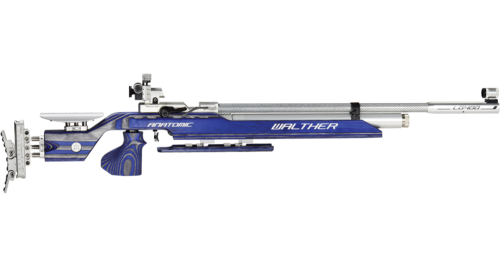 Walther LG400-M Anatomic Expert Blue Angel with mechanical trigger