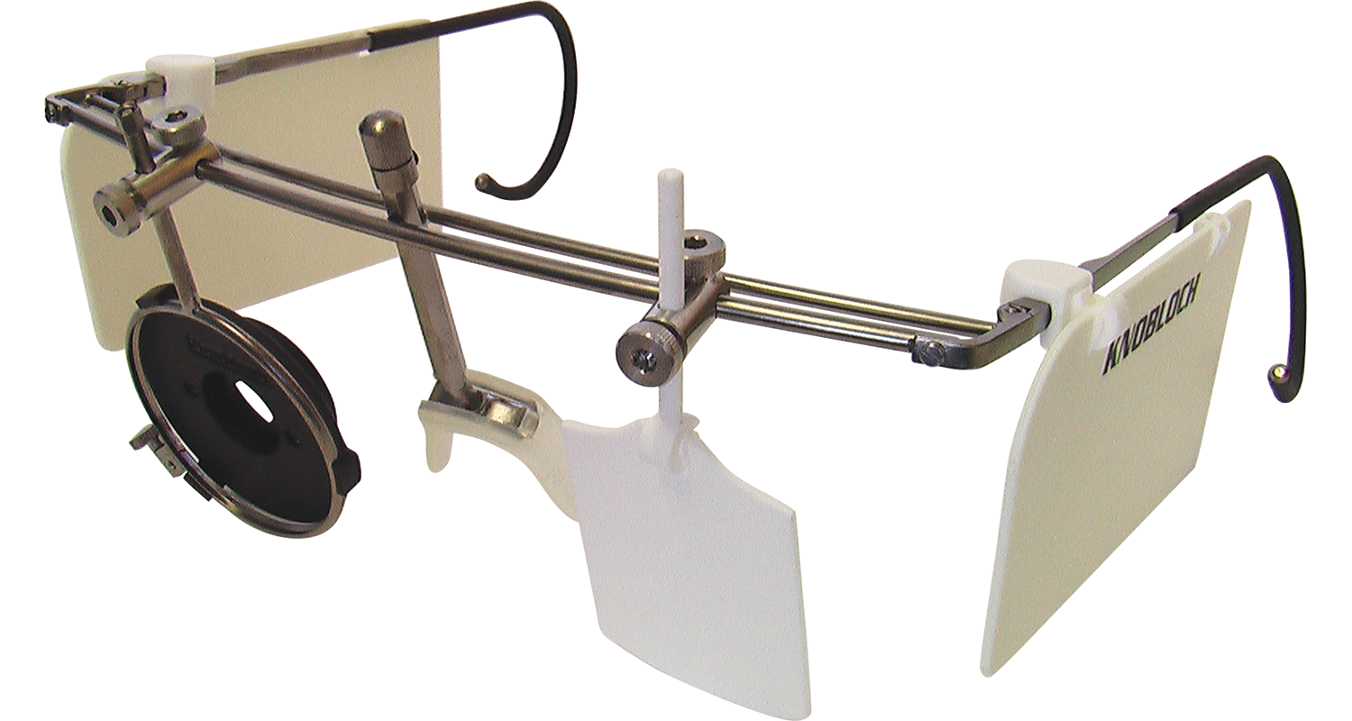 Knobloch K1 shooting glasses with Iris Shutter, Cover Disc and Side Protectors