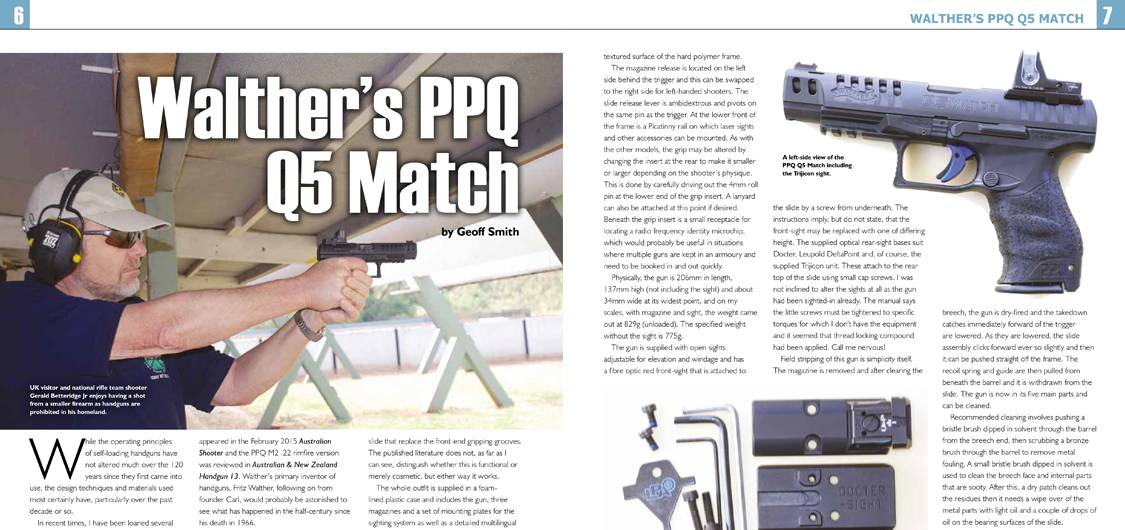 Walther PPQ Q5 Match ANZH review