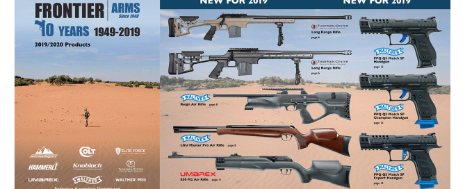 Frontier Arms product catalogue 2019/20