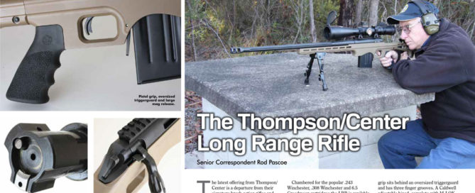 Thompson/Center Long Range Rifle Australian Shooter review