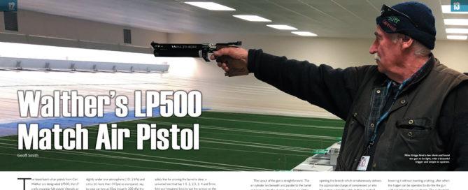 Walther LP500 A&NZ Handgun 18 review