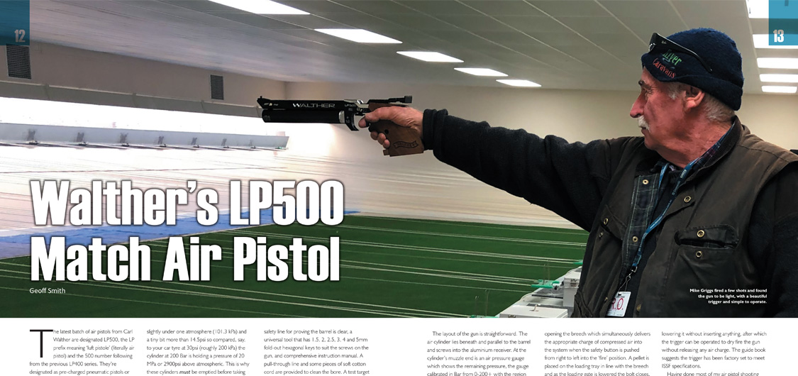 Walther LP500 A&NZ Handgun 18 review