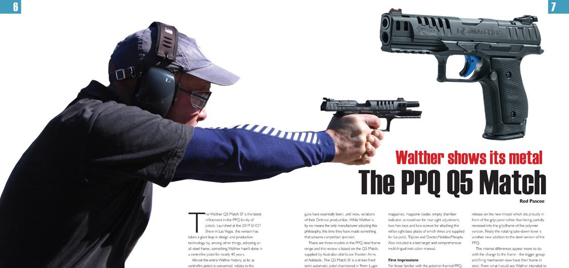 Walther PPQ Q5 Steel Frame A&NZ Handgun review